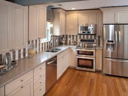 compact appliances for tiny kitche photo of white cabinets with stainless steel appliances