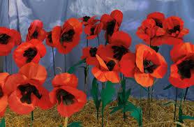 Make A Paper Poppy Flower Paper Poppies Make Do Laura Ashley The Blog
