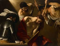 michelangelo merisi called caravaggio the crowning with thorns google art project jpg