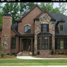 Design House Exterior Awesome Implausible Brick And Stone Houses Imposible Amazing Design
