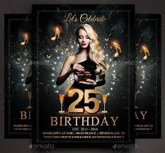 Birthday Flyers 34 Cool Birthday Flyer Psds Desiznworld
