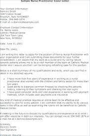 Nurse Practitioner Cover Letter Sample Registered Nurse Resume Cover Letter Samples Nursing Examples Sample