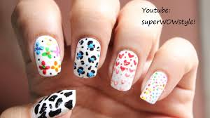 Toothpick Nail Designs ✓ Toothpick Nail Art Designs Without Tools ...