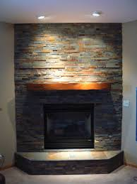 Corner Fireplace Tile Corner Gas Fireplace Pinteres