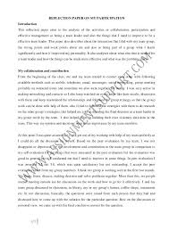 reflection paper example essays social work essay examples dew drops
