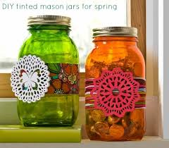 How To Decorate Canning Jars Decorate Mason Jars For Spring DIY Candy 41