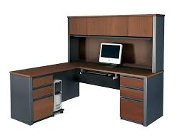 l desk office. Beautiful Office L Shaped Desk Computer For Workstation White Corner With Hutch .