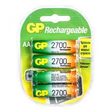 <b>Аккумулятор GP</b> LR6 <b>AA 2700</b> mAh (уп 4 шт) — купить в интернет ...