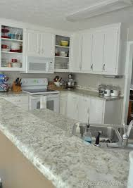i love the way the ends of the counters look we are just loving our new counters