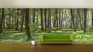 woodland forest self adhesive wallpaper