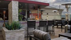 aluminum restaurant patio furniture. outdoor bar stools with fire pit at holiday inn in ontario canada aluminum restaurant patio furniture