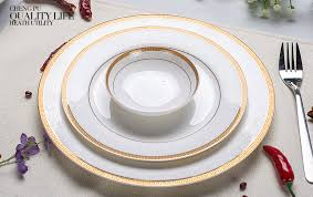 dinner dish sets for sale. 3pcs/lot, 10 \u0026 8 4 inch, real bone china dinner plate set, white porcelain plate, dishes for restaurant, tray dish sets sale