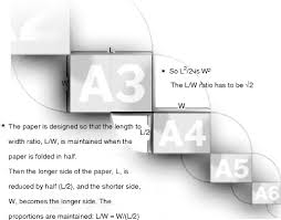A4 Paper Size The Geometry Of A4 Paper Sizes Springerlink