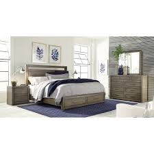Aspenhome Modern Loft Queen Bedroom Group - Item Number: IML-GRY Q Bedroom  Group