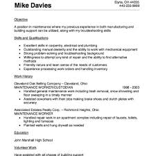 Maintenance Worker Resume Sample Http Resumesdesign Com Resume Delectable Resume For Maintenance Worker