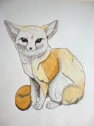 fennec fox drawing. Perfect Fox To Fennec Fox Drawing