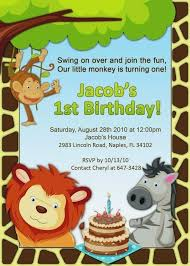 Free Printable Safari Birthday Invitations Free Printable Safari Party Invitations Jungle Birthday Feat