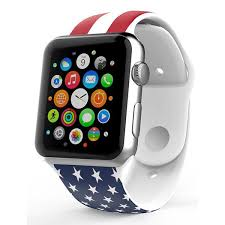 iPM <b>Soft Silicone</b> Flag <b>Band for</b> Apple Watch – theipmstore.com