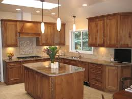 ... Small L Shaped Kitchen With Wooden Cabinet And Granite Countertop  Winsome Layout Island Designs Pictures Outofhome ...