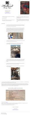 holland rug spa website history