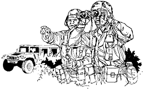 Small Picture Coloring Page Army coloring pages 8