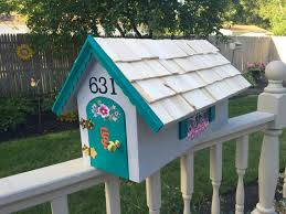 painted mailbox designs. 118 Best Hand Painted Mailboxes Images On Pinterest Custom Made Mailbox Designs