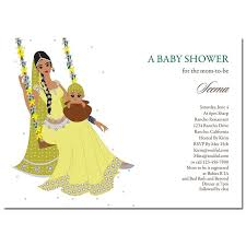 Indian Baby Shower Invitations Jhula Baby Baby Shower Indian