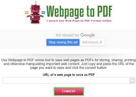 Top 10 Free Ways To Save Webpage As Pdf