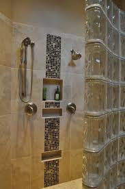 idyllic shower cookwithalocal home then shower glass block