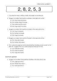 median worksheets simple chemical equations worksheet balancing pdf comparing mean and mode range grade f together