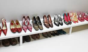 Diy Shoe Rack Shoe Rack For Closet Heide Gores Walkin Closet With Ebony Stained