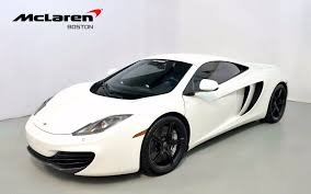 mclaren mp4 12c white wallpaper. used 2012 mclaren mp412c norwell ma mclaren mp4 12c white wallpaper