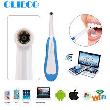 Full HD Intraoral <b>WiFi Wireless</b> Dental Camera Endoscope <b>LED</b> ...