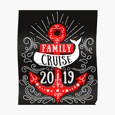 Family Reunion Poster Design Cruise Shirt Family Cruise 2019 Group Vacation Gifts