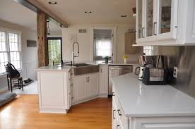 white kitchen cabinets with white quartz countertop frankfort ny