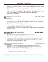 Sql Fresher Resume Sample