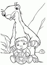 25 Nieuw Ice Age Sid Kleurplaat Mandala Kleurplaat Voor Kinderen