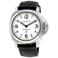 panerai watches jomashop panerai luminor base logo acciaio men s hand wound watch
