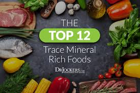 Top 12 Trace Mineral Rich Foods For Energy And Detoxification