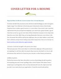 How To Make Cover Letter For Resume Create Gallery Ideas Wonderful