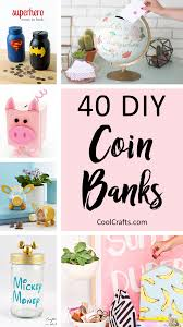 40 cool diy piggy banks for kids s