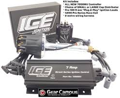 ice ignition 7 amp kit ford cleveland v8 carb engines small or large distributor controller leads coil