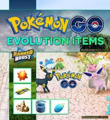 Pokemon Go Evolution Items List Generation 3 Evolution Items
