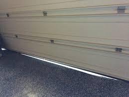 garage door floor sealGarage Door Uneven Floor Seal  Wageuzi