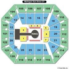 Mohegan Sun Arena Seating Chart Bellator Elcho Table