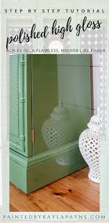 green painted furniture. Step By Tutorial How To Wet Sand And Polish Furniture A Flawless, Mirror Green Painted