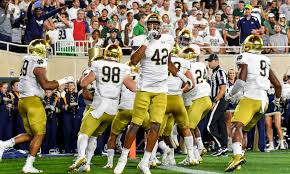Notre Dame Sets Official Depth Chart For Louisville Game
