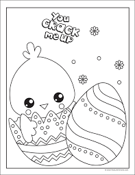 We've prepared something special for your kids. Free Easter Coloring Pages Printable Set With Bunnies Chicks And Eggs