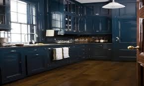 Blue Painted Kitchen Cabinets Navy Blue Kitchen Cabinets Design Porter