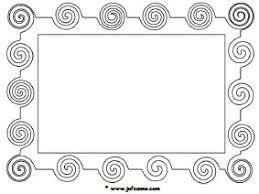 Schilderij Lijst Kleurplaat Kunst Downloads Jufsanne Com
